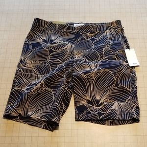 Goodfellow & Co Tropical Flower Print Shorts